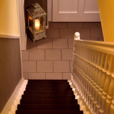 Motiv Treppe Hausflur