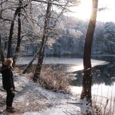 Winterwelt Heideseen