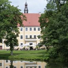 Das Schloss der Herren von Lübars in Lübben im Spreewald