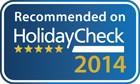 Unser Link zur Bewertungsseite von Holiday Check